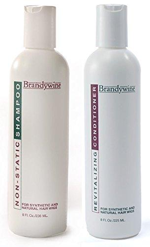 Brandywine Non Static Shampoo & Revitalizing Conditioner 8 Ounce., Value Pack Bundle 2 -