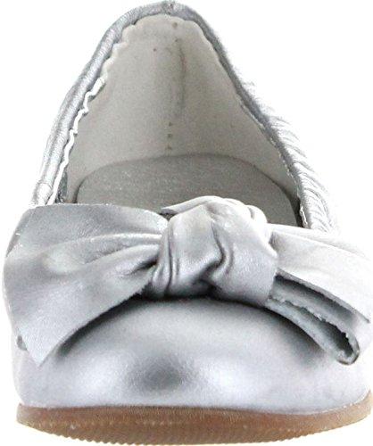 Casual Flats Maya Girls Silver Designer Venettini Dress wpvfnWtx1