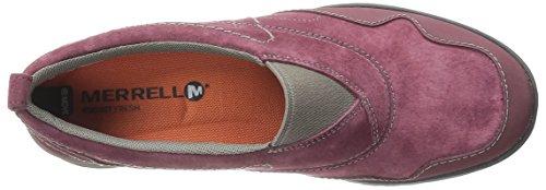 Merrell Womens Albany Moc Slip-on Shoe Zinfandel