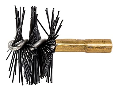 Brass Brushes Dia Pack of 10 5//8 for Tube Cleaning Flexible Shafts.