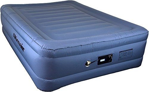 Altimair Full Lustrous Series Premium Air Mattress Airbed with Patented high-end Giga Valve, Stretch-Free, High-end Nylon Lamination 2ABFPL01
