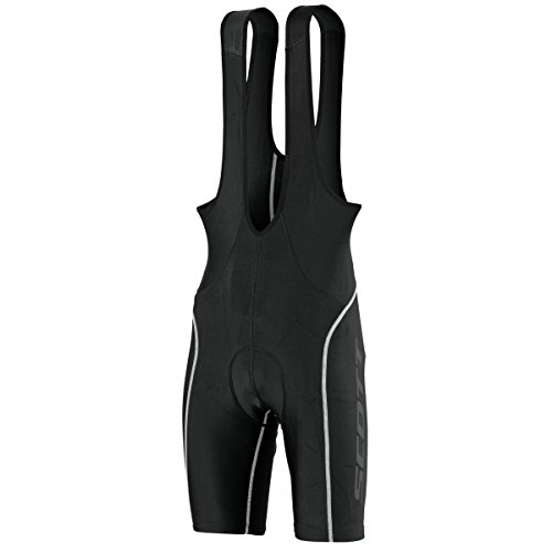 Scott Sports Mens Endurance + Cycling Bib Shorts - 241736 (Black/White - XL)