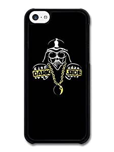 diy phone caseAMAF ? Accessories Darth Vader Star Wars Rapper Dark Side Funny Illustration case for iphone 5cdiy phone case