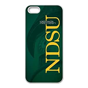 North Dakota State University Digital Art 0 iPhone5s Cell Phone Case White 218y-689338