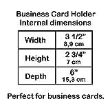 Acrimet Index Business Card Size File Holder