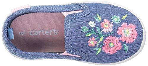 Carter's Tween Girl's Novelty Slip-On, Blue, 10 M US Toddler by Carter's (Image #8)