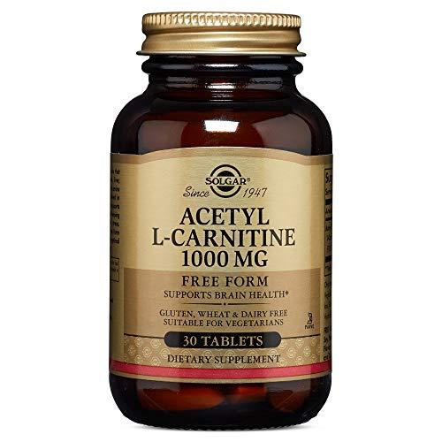 Solgar - Acetyl L-Carnitine 1000 mg, 30 Tablets (Solgar Acetyl L Carnitine 1000 Mg 30 Tablets)