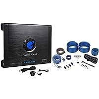 Planet Audio AC3000.1D 3000W 1 Ohm Class D Mono Car Amplifier+Amp Kit+Remote