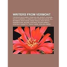 Writers from Vermont: Frederick Buechner, Frank Miller, Shirley Jackson, Ralph Flanders, Ki Longfellow, Chris Bohjalian, Bill McKibben