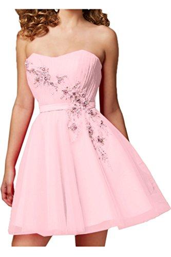 Missdressy - Vestido - para mujer rosa claro