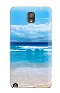 Hot Premium Tpu Small Sea Wave Hdtv 1080p Cover Skin For Galaxy Note 3