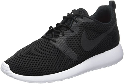 Uomo Black White One Nike Hyperfuse Black Roshe Scarpe da Nero Corsa BR qC0vwC