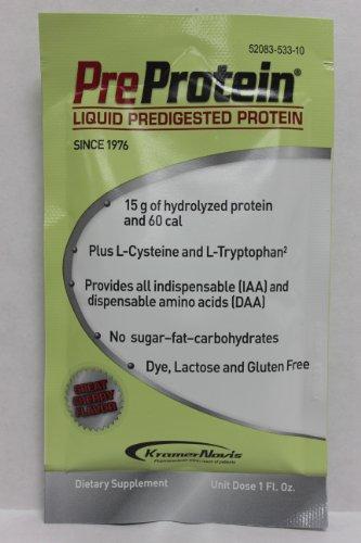 Pre-Protein Cherry 1 oz. Pouch - 300 ct. case by KRAMER NOVIS