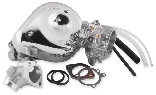 S&S Cycle Shorty Super G Carburetor for 1999-2005 Harley Davidson Twin Cam Harley Davidson Motorcycle Carburetor