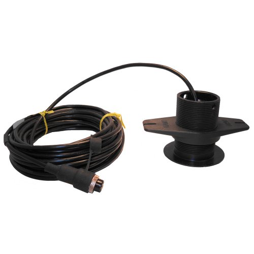 Si-tex 120kHz Lexan Low-Profile Thru-Hull Transducer f/SDD-110 ()