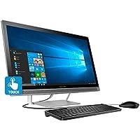 HP Flagship 27 Full HD IPS All-in-One Touchscreen Business Desktop, Intel Quad-Core i5-6400T 2.2GHz, wireless-AC, 8GB RAM, 1TB HDD, DVDRW, Webcam, Bluetooth, HDMI, Card reader, Ethernet, Windows 10