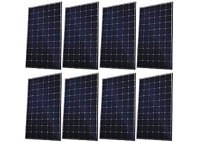 Canadian Solar New (8 PCS) 300W 12V/24V/48V MPPT Charge Controller Compatible Monocrystalline Solar Panels