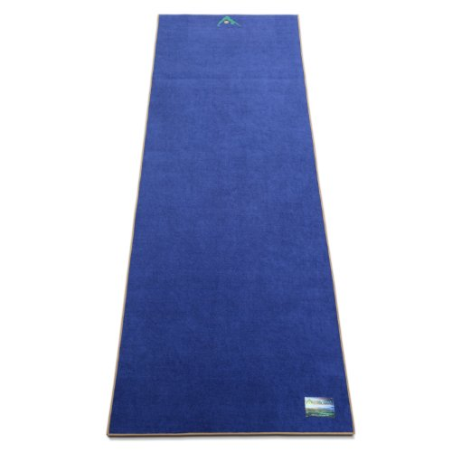 Aurorae Yoga Synergy Yoga Mat Towel Combination In: Aurorae Non Slip 2-in-1 Yoga Mat With Integrated Towel, 72