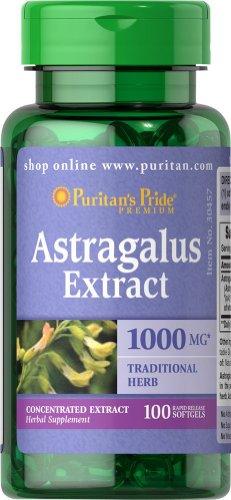 Astragalus Extrakt 1000mg 100 Softgels