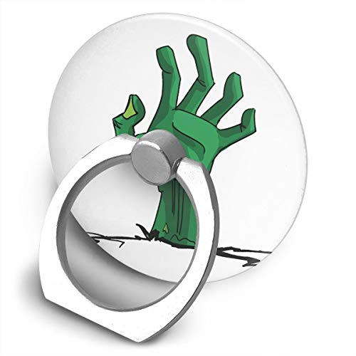 Yuotry 360 Degree Rotating Ring Stand Grip Mounts Green Creepy Zombie-Hand Universal Phone Ring Bracket Holder Smartphone Ring Stent]()