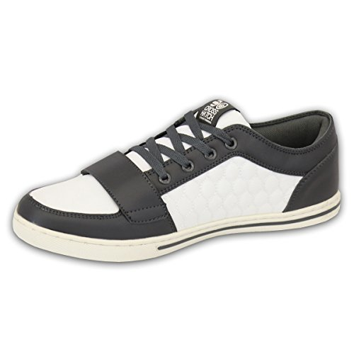 Sneakers grigie con chiusura velcro Crosshatch Precio Barato De Baja Footlocker Imágenes En Línea Sitio Oficial Envío Libre Venta De La Mejor Venta Para Comprar Barato Pre N0QoYG