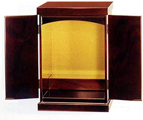 仏壇 (日本製) 高級 唐木仏壇 13号 豆仏 紫檀系 (ブビンガ) 家具調仏壇
