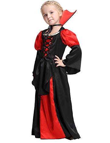 (Girl vampire costume Halloween Witch Dress Up Cosplay)