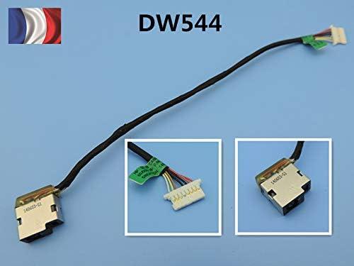 cythonworks HP Pavilion 15-BS 15-BW 250 G6 DC in Jack Power Port de Charge C/âble 19 cm Franc