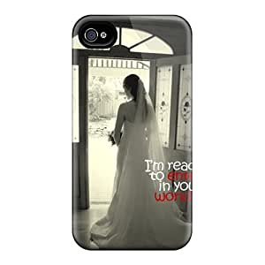 linJUN FENGProtection Case For Iphone 4/4s / Case Cover For Iphone(im Ready)