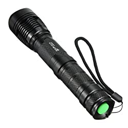 2000LM Lumen Zoomable 18650/26650/AAA Battery CREE XML XM-L T6 LED Flashlight Torch from WindFire