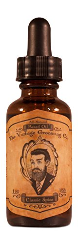 Classic Spice Beard Oil All Natural product image