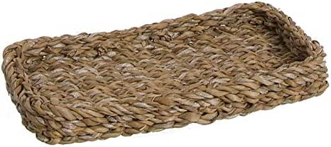 Vacia Bolsillos Bandeja Llaves Recibidor Decorativa Mimbre 25 cm: Amazon.es: Hogar