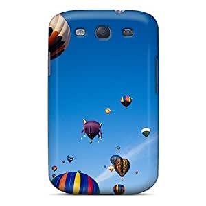 Mialisabblake Scratch-free Phone Case For Galaxy S3- Retail Packaging - Air Balloons by supermalls