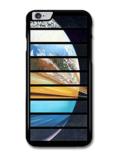 Planets of the Universe Collage In a Triptych Art Style case for iPhone 6 Plus 6S Plus