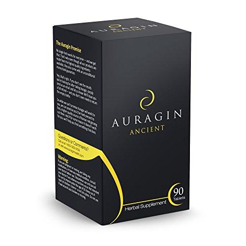 Auragin Ancient: 100% Ginkgo Biloba, No Additives or Fillers