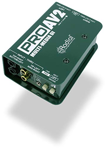 Stereo Direct Box - Radial Engineering ProAV2 Stereo Direct Box