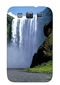 lintao diy Case Provided For Galaxy S3 Protector Case Thundering Mist Iceland Phone Cover With Appearance