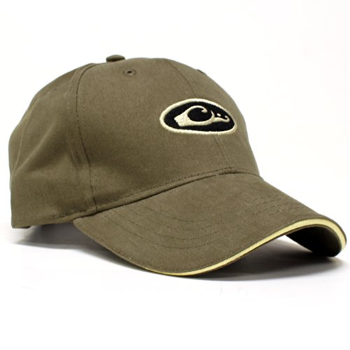 Drake Waterfowl Oval Logo Six Panel Baseball Cap - Formed - Loden