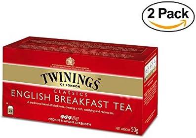 Twinings - Tè Negro - English Breakfast (50 Bolsas): Amazon.es: Alimentación y bebidas