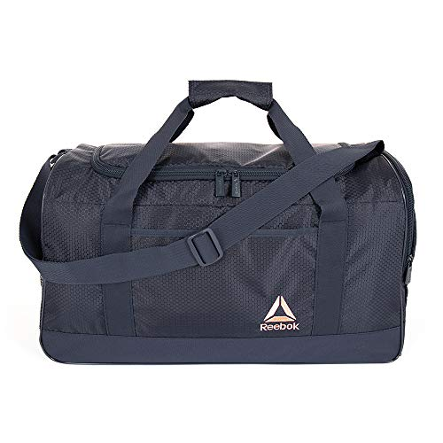 Reebok Garnet Large Gym Bag for Men and Women, Versatile Sports Duffle Bag
