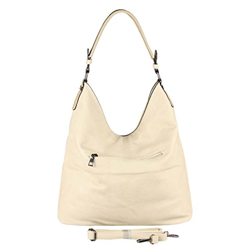 hombro mujer al cm para OBC beige 42x34x12 Rosa Couture BxHxT Bolso Only Beautiful Rosa ca qawxRI0Xf