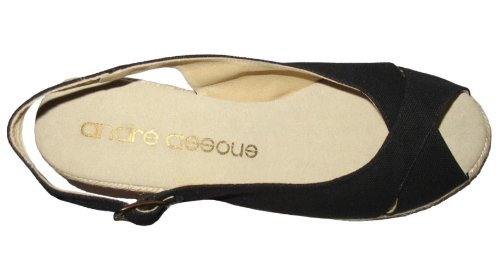 Andre Assous Femmes Chandra Talon Talon Espadrille Sandales Chaussures
