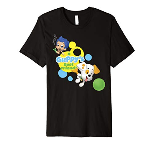 Bubble Guppies A Guppy's Best Friend Gil And Bubble Puppy Premium T-Shirt]()