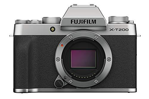 Fujifilm X-T200 Mirrorless Camera Body - Silver