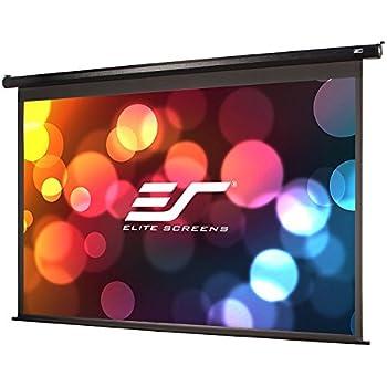 elite screens spectrum 125inch diag 169 electric motorized 4k ready