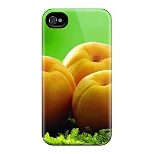 Iphone 4/4s EbOwgvP7697BAUCq Food Berries Fruits Nuts Apricots On The Grass Tpu Silicone Gel Case Cover. Fits Iphone 4/4s