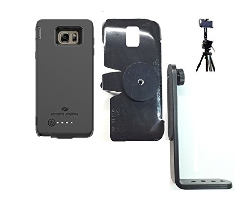SlipGrip Tripod Mount For Samsung Galaxy Note 5 Using Zerolemon 8500mAh EXT BAT Case ()