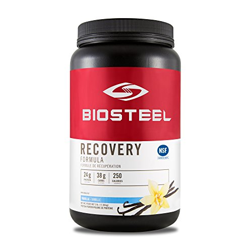 BioSteel Advanced Recovery Formula - Vanilla - 1224 Grams