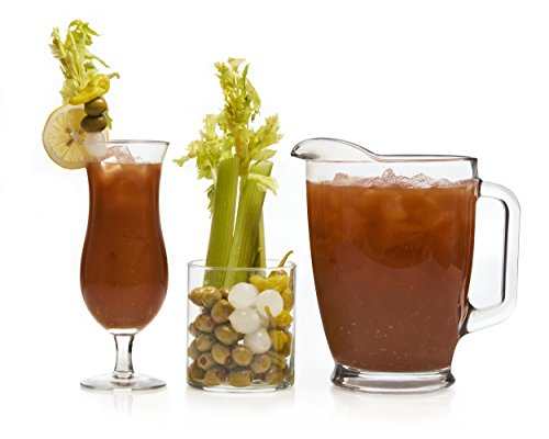 Libbey Modern Bar Bloody Mary Glass Set - Bloody Glasses Mary