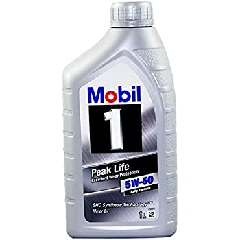 Mobil 1 106035 5w 50 advanced full synthetic for 5w 50 synthetic motor oil